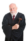 El juez Foto de archivo libre de regalías