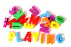 El jugar Imagen de archivo libre de regalías
