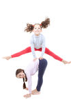 El jugar activo de los niños Fotografía de archivo libre de regalías