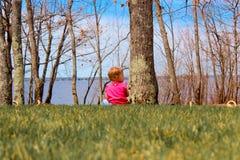 El jugar adorable del bebé Foto de archivo libre de regalías