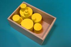 El jugar con dimensiones de una variable foto de archivo