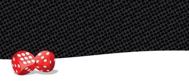 El jugar de juego corta en cuadritos en fondo blanco y negro Imagenes de archivo