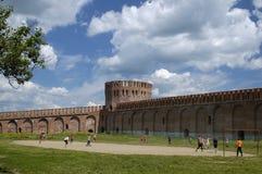 El jugar de la gente footbal Imagen de archivo