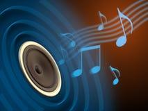 El jugar de la música Imagen de archivo