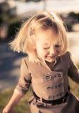 El jugar de la muchacha Fotos de archivo