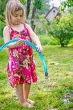 El jugar de la muchacha Fotografía de archivo libre de regalías