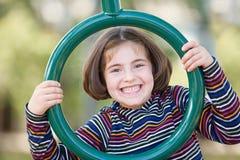 El jugar de la muchacha foto de archivo libre de regalías