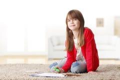 El jugar de la niña Imagen de archivo