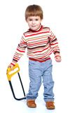 El jugar de Little Boy Fotografía de archivo
