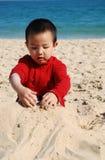 El jugar de Little Boy foto de archivo libre de regalías