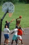 El jugar de los hombres del afroamericano Imagen de archivo libre de regalías