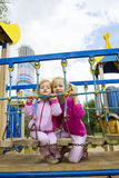 El jugar de los niños Fotos de archivo libres de regalías