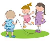 El jugar de los niños Fotografía de archivo