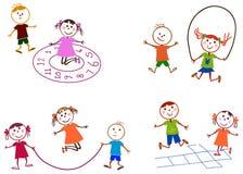 El jugar de los niños Fotos de archivo