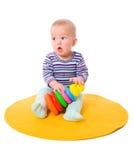 El jugar del bebé Foto de archivo libre de regalías