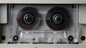 El jugar del casete audio Colocación inconsútil Contiene el mate alfa metrajes