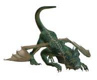 El jugar del dragón del Hatchling Ilustración del Vector