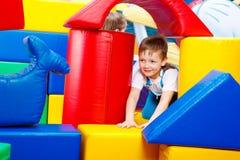 El jugar del muchacho Imagen de archivo libre de regalías