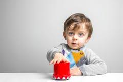 El jugar del niño Fotografía de archivo