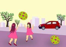 El jugar en la calle Imagen de archivo