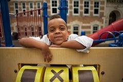 El jugar en la escuela Fotografía de archivo