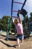 El jugar en parque Imagenes de archivo