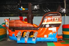 El juguete animoso de los niños inflables plásticos Imagen de archivo