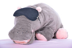 El juguete del hipopótamo Imagen de archivo libre de regalías