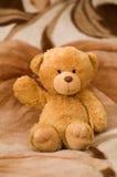 El juguete del oso está agitando a mano Imagenes de archivo