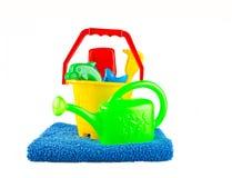 El juguete plástico de los niños Imagen de archivo