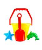 El juguete plástico de los niños Foto de archivo libre de regalías