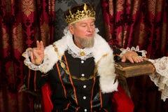 El juramento del rey Imagen de archivo