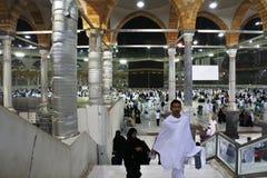 El Kaaba santo Imágenes de archivo libres de regalías
