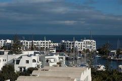 el-kantaouiport tunisia Arkivfoton