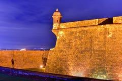 El Kasztel Morro, San Juan, Puerto Rico Zdjęcia Stock