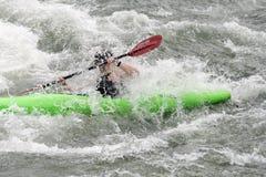 El Kayaking Foto de archivo libre de regalías