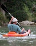 El Kayaking Imagenes de archivo