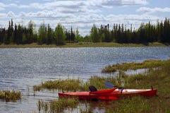 El Kayaking fotografía de archivo