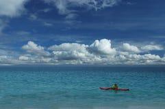El Kayaking Imagen de archivo libre de regalías