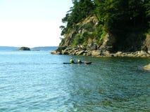 El Kayaking Imagen de archivo