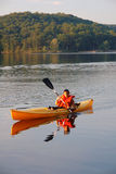 El Kayaking Fotos de archivo libres de regalías