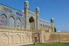 El Khudayar Khan Palace es las señales más populares de Fergan fotografía de archivo libre de regalías