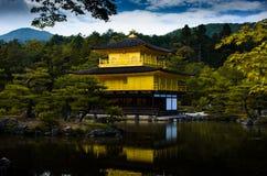 El Kinkakuji Pavillion Foto de archivo