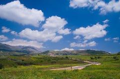 El Kinya and Mount Hermon Stock Photography