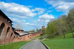 El Kremlin de los nizhny interiores Fotos de archivo libres de regalías