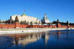 El Kremlin en Moscú Imagenes de archivo