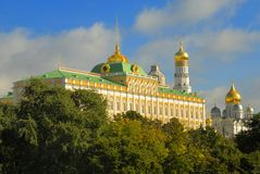 El Kremlin en Moscú, Rusia Fotografía de archivo libre de regalías