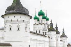 El Kremlin Rostov el grande Anillo de oro de Rusia foto de archivo libre de regalías