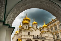 El Kremlin y la Plaza Roja, Moscú fotos de archivo libres de regalías