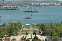 El Kruzenstern, Kerch, Crimea Imagenes de archivo